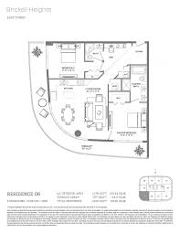 Absolute Towers Floor Plans by Floor Plan Model 06 Line06 Atbrickell Heights Miami