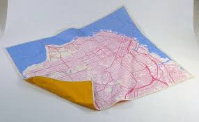 san francisco map quilt decorating ideas for travel addicts stitched map quilts
