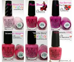 must have opi nail polish varnish pink shades classic bright