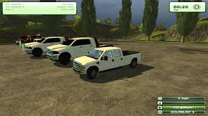 Old Ford Truck Games - farming simulator 2013 american trucks dodge 3500 and more youtube
