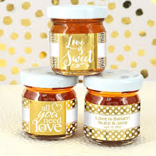 honey favors metallic foil honey favors toccabile