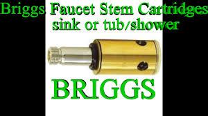 Kohler Bathroom Faucet Repair by Briggs 2 Handle Faucet Drip Kohler Youtube