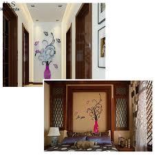3d Flower Vase Homdox Diy 3d Flower Vase Art Home Room Office Decoration Mirror