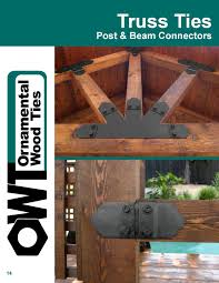 owt ornamental wood ties catalog 2013 by ozco building products