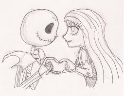 jack and sally drawings cute pictures to pin on pinterest pinsdaddy