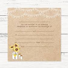 Wedding Invitations Rustic Rustic Wedding Invitations Amazon Co Uk