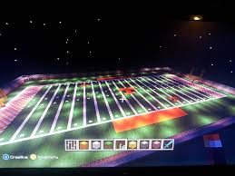 minecraft sports stadium university of tennessee u0027s neyland stadium phase 1 field complete