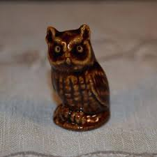 home interior collectibles owl figurines collectibles miniature wade owl figurine vintage