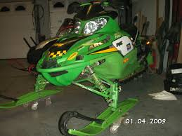 arctic cat sno pro 440 set up for trail riding