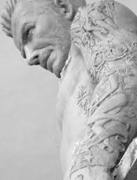 David Sculpture David Beckham Sculpture Youtube