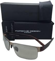 Porsche Design Titanium Sunglasses P U00278573 C Matte Gold U0026 Brown