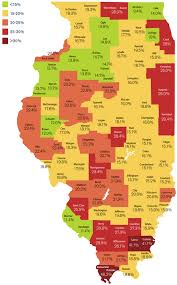 Il County Map Mchenry Lowest In Food Stamps Mchenry County Blog