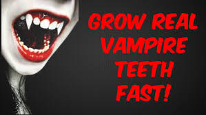 grow vampire fangs fast subliminals frequencies hypnosis spell