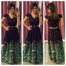 antix vestidos vestido longo sonhando antix calçados roupas e bolsas no