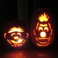 Bert Ernie Halloween Costumes Adults Pumpkin Carving Ideas Halloween 2014 Halloween Alley Canada