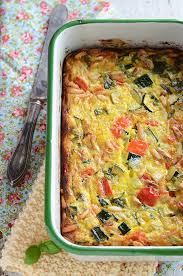 cuisine nicoise roasted vegetable crustless quiche with basil pine nuts cuisine