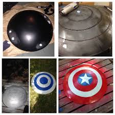 captain america spirit halloween real captain america shield 11 steps with pictures