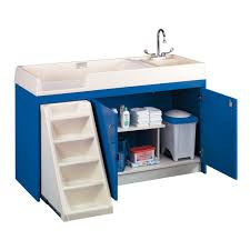 Changing Table With Sink Tot Mate Changing Table W Sink Stairs Right 8543a