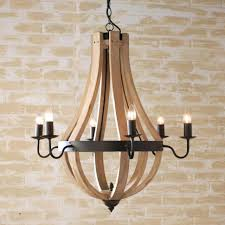distressed home decor chandeliers design marvelous wood orb chandelier chandeliers