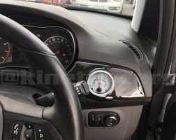 vauxhall astra vxr black vauxhall astra h air vent gauge pod adapter gloss black abs