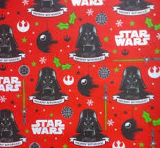 wars wrapping paper wars christmas merry sithmas wrapping