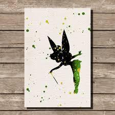 watercolor landcolor skycolor u2014 tinkerbell peter pan disney
