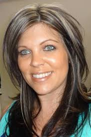 doing low lights on gray hair gray hair women with lowlights google search brunettes do it