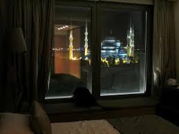 la chambre blue vue nocturne depuis la chambre picture of hotel arcadia blue