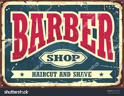 barber shop hipster haircut shave vintage stock vector 691587628