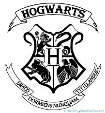 hogwarts crest littlefallingstar deviantart deviantart