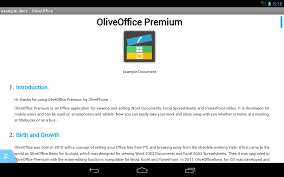 oliveoffice premium android apps on google play