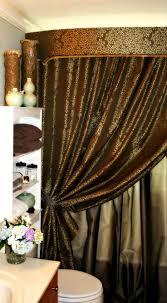 curtain best bling bathroom ideas on pinterest mosaic elegant sets