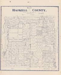 Haskell Map Map Of Haskell County The Portal To Texas History