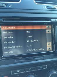 100 manual rcd 510 volkswagen passat how to enter hidden