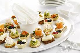 food canapes canapés and finger food caterers in battersea westminster