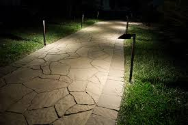 landscape led path lights w offset 5 square light 1 watt