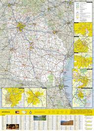Augusta Ga Zip Code Map by Georgia National Geographic Guide Map National Geographic Maps