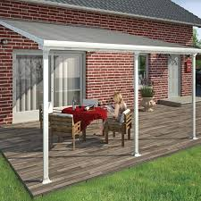 Palram Awning Palram Feria 10 Ft H X 14 Ft W X 13 Ft D Patio Cover Awning