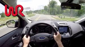 2017 ford escape titanium 2 0l ecoboost 4wd wr tv pov test drive