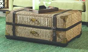 Wicker Trunk Coffee Table Coffe Table Wicker Trunk Coffee Table Akiyo Me Coffe For