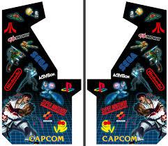 arcade cabinet art 23 with arcade cabinet art edgarpoe net