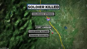 Fort Carson Map Fort Carson Soldier Killed In Vehicle Accident Identified Cbs Denver