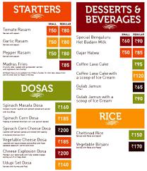 balbir s restaurant menu menu menu of sagar ratna paschim vihar delhi delhi ncr eazydiner