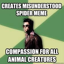 Spider Meme Misunderstood Spider Meme - misunderstood spider memes quickmeme 72 images misunderstood