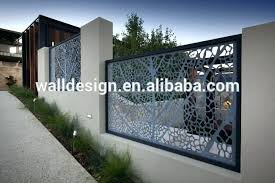 image of metal fencing decorative fence panels image of home depot