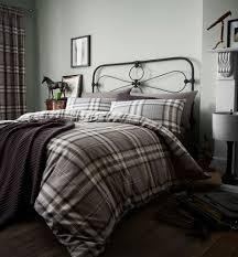 kelso tartan duvet quilt cover set reversible single double king