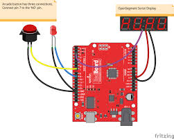 reaction timer learn sparkfun com