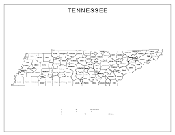 Printable Labeled Map Of The United States by Printable Tennessee Map Printable Maps