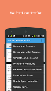 Video Resume Maker Perfect Resume Builder Android Apps On Google Play