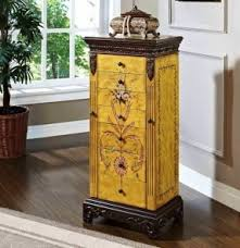 Jewelry Armoire Vintage Solid Wood Jewelry Armoires Foter